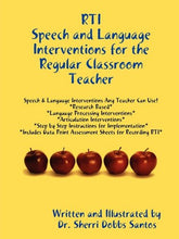 Load image into Gallery viewer, Rti: Speech And Language Interventions For The Regular Classroom Teacher