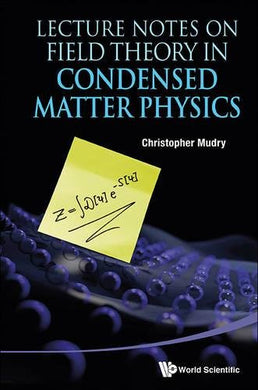 Lecture Notes On Field Theory In Condensed Matter Physics