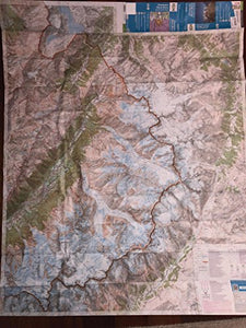 Mont Blanc 1:25,000 Hiking Map (Chamonix - Massif Du Mont Blanc, France), 2012 Edition