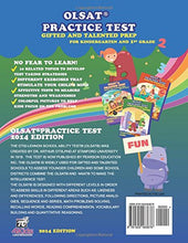 Load image into Gallery viewer, Gifted And Talented Test Prep: Olsat Practice Test (Kindergarten And 1St Grade): With Additional Nnat Exercise, Critical Thinking Skill (Volume 2)