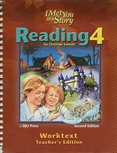 Load image into Gallery viewer, Reading 4 For Christian Schools, Worktext Answer Key: I Met You In A Story, 2Nd Edition