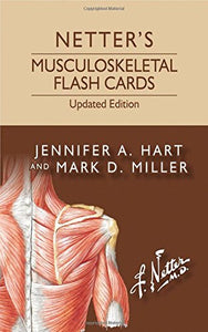 Netter'S Musculoskeletal Flash Cards Updated Edition, 1E (Netter Basic Science)