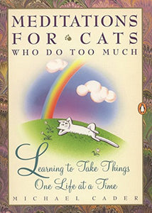 Meditations For Cats Who Do Too Much: Learning To Take Things One Life At A Time