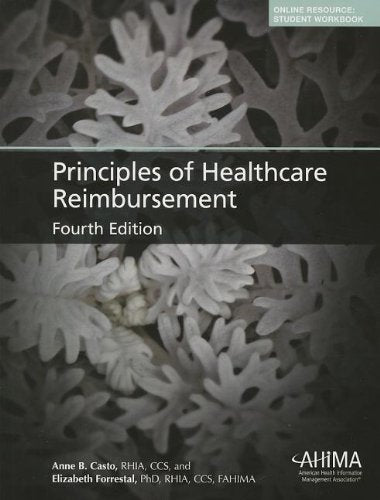 Principles Of Healthcare Reimbursement