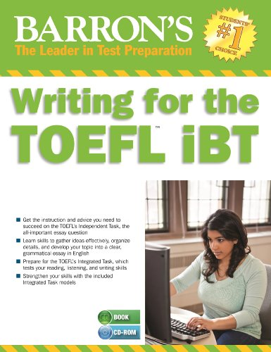 Writing For The Toefl Ibt With Mp3 Cd