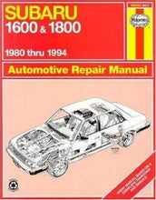 Load image into Gallery viewer, Subaru 1600 & 1800 '80'94 (Haynes Repair Manuals)