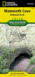 Mammoth Cave National Park (National Geographic Trails Illustrated Map)