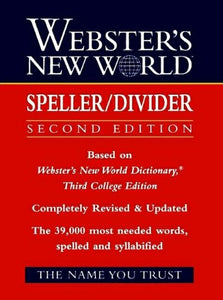 Webster'S New World Speller/Divider
