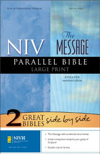Niv/The Message Parallel Bible, Large Print