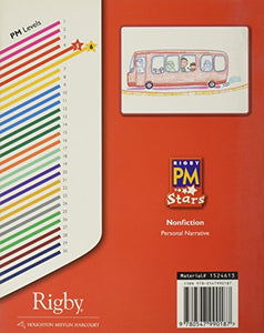 Rigby Pm Stars: Individual Student Edition Red (Levels 3-5) The Bus Ride