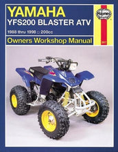 Load image into Gallery viewer, Yamaha Yfs200 Blaster Atv, 1988 Thru 2006, 200Cc (Haynes Owners Workshop Manual)