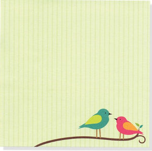 Bird Song Boxed Desk Notes (Stationery, Note Pad)