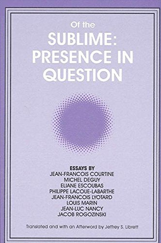 Of The Sublime: Presence In Question: Essays By Jean-Francois Courtine, Michel Deguy, Eliane Escoubas, Philippe Lacoue-Labarthe, Jean-Francois ... Philosophy And Critical Theory)