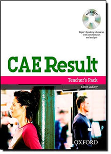 Cae Result, New Edition: Teacher'S Pack Including Assessment Booklet With Dvd And Dictionaries Booklet