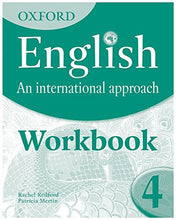 Load image into Gallery viewer, Oxford English: An International Approach: Exam Workbook 4 Workbook 4