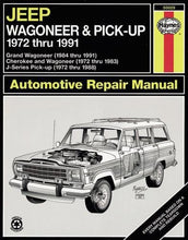 Load image into Gallery viewer, Jeep Wagoneer/J Series, '72'91 (Haynes Repair Manuals)