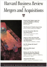 Load image into Gallery viewer, Harvard Business Review On Mergers & Acquisitions