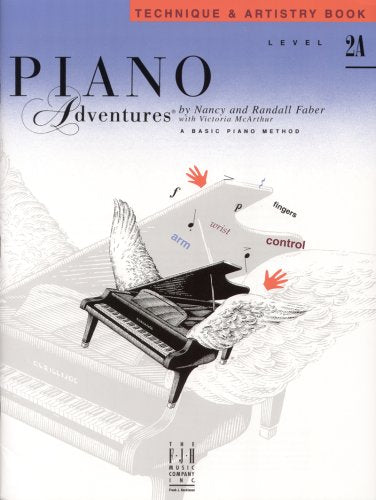 Piano Adventures: Technique & Artistry Book, Level 2A