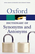 Load image into Gallery viewer, The Oxford Dictionary Of Synonyms And Antonyms (Oxford Quick Reference)