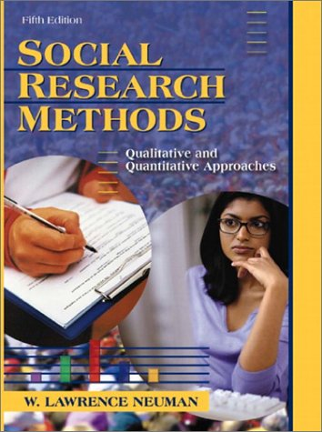 Social Research Methods: Qualitative And Quantitative Approaches (5Th Edition)