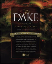 Load image into Gallery viewer, Dake Annotated Reference Bible-Kjv-Large Print