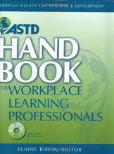 Load image into Gallery viewer, Astd Handbook For Workplace Learning Professionals