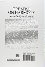 Load image into Gallery viewer, Treatise On Harmony (Dover Books On Music)