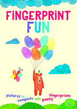 Load image into Gallery viewer, Fingerprint Fun: Pictures To Complete With Painty Fingertips