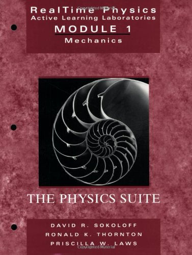 Realtime Physics Active Learning Laboratories Module 1: Mechanics