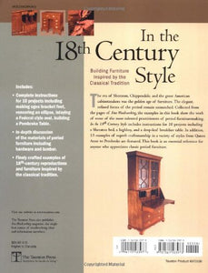 In The 18Th Century Style: Building Furniture Inspired By The Classical Tradition (In The Style)
