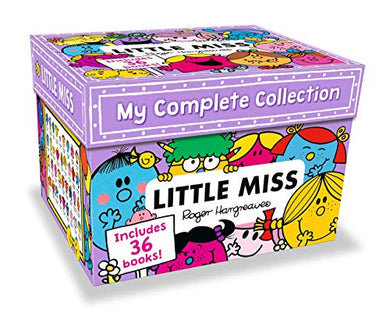 My Complete Little Miss 36 Books Collection Roger Hargreaves Box Set New 2018