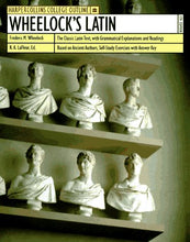 Load image into Gallery viewer, Wheelock'S Latin (Harpercollins College Outline)