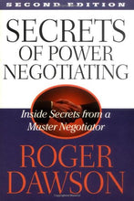 Load image into Gallery viewer, Secrets Of Power Negotiating: Inside Secrets From A Master Negotiator