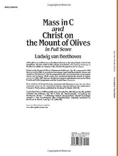 Load image into Gallery viewer, Mass In C And Christ On The Mount Of Olives In Full Score (Dover Music Scores)