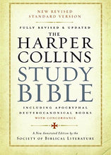 Load image into Gallery viewer, The Harpercollins Study Bible: Fully Revised & Updated