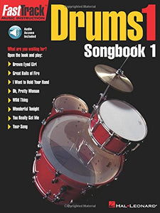 Fasttrack Drums Songbook 1 - Level 1 (Book & Online Audio) (Fasttrack Series)