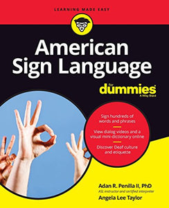 American Sign Language For Dummies, + Videos