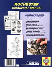 Load image into Gallery viewer, Rochester Carburetor Manual (Haynes Repair Manuals)