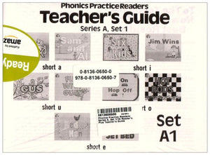 Phonics Practice Readers Teachers Guide Series A, Set 1
