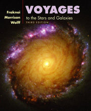 Load image into Gallery viewer, Voyages To The Stars And Galaxies (With Cd-Rom, Virtual Astronomy Labs, And Infotrac)
