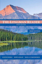 Load image into Gallery viewer, The Longman Reader: Brief Edition (10Th Edition)