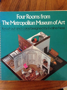 Four Rooms From The Metropolitan Museum Of Art To Cut Out And Color