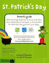 Load image into Gallery viewer, St Patrick'S Day (Bright Baby Touch And Feel)