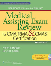 Load image into Gallery viewer, Lippincott Williams & Wilkins' Medical Assisting Exam Review For Cma, Rma & Cmas Certification (Medical Assisting Exam Review For Cma And Rma Certification)