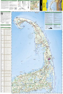 Cape Cod (National Geographic Trails Illustrated Map)