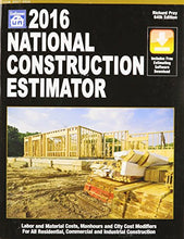 Load image into Gallery viewer, 2016 National Construction Estimator (National Construction Estimator) (National Construction Estimator (W/Cd))