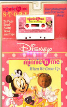 Load image into Gallery viewer, Minnie 'N Me: When We Grow Up (Book And Cassette)