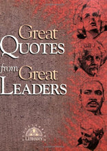 Load image into Gallery viewer, Great Quotes From Great Leaders (Great Quotes Series)