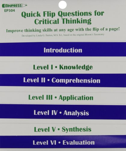 Quick Flip Questions For Critical Thinking