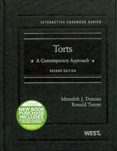 Load image into Gallery viewer, Torts: A Contemporary Approach, 2D (Interactive Casebook Series)